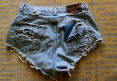 High waist shorts DIY