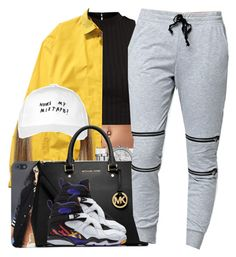 """ROYALTY Is Out!!"" by nasiaamiraaa ❤ liked on Polyvore featuring Polo Ralph Lauren, Maison Margiela, MICHAEL Michael Kors, October's Very Own, LA: Hearts and NanaOutfits"