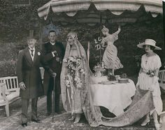 1921 wedding of Gladys Deacon and the 9th Duke of Marlborough