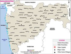 Maharashtra Cities Map