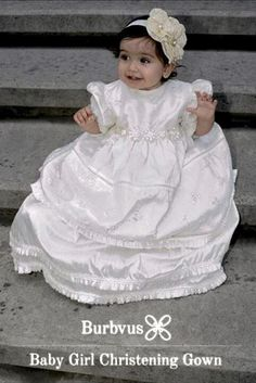 Very Smiling Gretel with his Baptism Gown G005 from Burbvus.