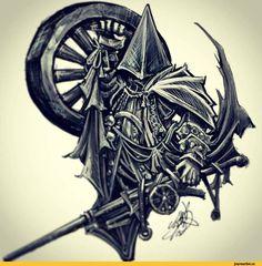 BloodBorne,Игры,BloodBorne art,Alfred,Cainhurst,Hunter (Bloodborne),game art,Eileen The Crow,Father Gascoigne,Forgotten Madman,Henryk,Keeper of…