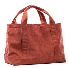Structured, stylish and durable, the Rennie tote in corduroy features comfortable top handles and a sturdy base for carrying all your essentials. Patchwork Bags, Quilted Bag, Diy Tote Bag, Reusable Tote Bags, Diy Sac, Burlap Bags, Potli Bags, Denim Handbags, Fabric Bags