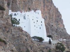 Impressionante Monastero a Amorgos (Cicladi, Grecia)
