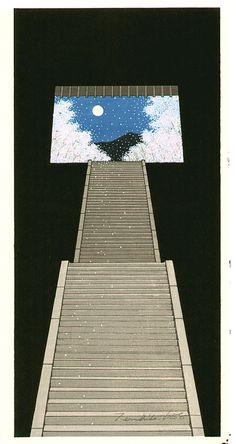 Heavenly Sakura (Feeling of Spring), by Teruhide Kato (born 1936).