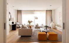 Soggiorno arancione ~ Soggiorni contemporanei u idee e stile per un soggiorno