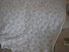 Ravelry: Mountain Laurel Counterpane Blanket pattern by Kim Brody Salazar