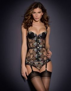 View All Lingerie by Agent Provocateur - Petunia Corset