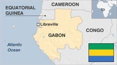 SC. Gabon no? You walk through the equator.