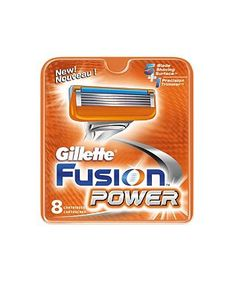 Gillette Fusion Power Razor Blades 8 Pack 10055101 92 Advantage card points. The Gillette Fusion Power Razor Blades have five PowerGlide blades spaced closer together to help reduce pressure for extraordinary comfort. FREE Delivery on orders over 45 G http://www.MightGet.com/february-2017-1/gillette-fusion-power-razor-blades-8-pack-10055101.asp
