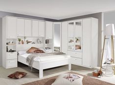 Rivera Alpine White Overbed Unit is fantastic way to maximum bedroom storage. Best quality white overbed unit available here on Furniture Direct UK Fitted Bedroom Furniture, Fitted Bedrooms, Dining Room Furniture Sets, Bedroom Closet Design, Bedroom Wardrobe, Bedroom Decor, Mirrored Wardrobe, Sliding Wardrobe, Wardrobe Doors
