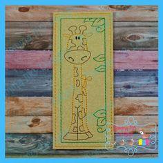 Giraffe Bookmark by Momma MC Design