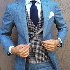 Double breasted waistcoat as a feature for an outfit-something for 2015
