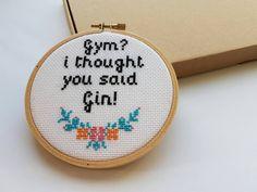 funny cross stitch humor
