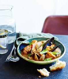 Australian Gourmet Traveller recipe for Italian fish stew from A Tavola restaurant in Bondi.#food #yummy