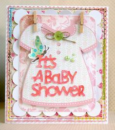 baby cricut imagine machine diecuts diy handmade homemade cards card set
