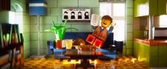 Emmet at home (LEGO movie)