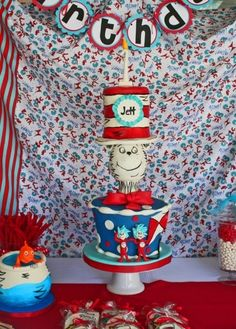 Cat in the Hat By MacsMom on CakeCentral.com