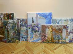 Картины рисунки Пётр Фролов культура пейзажи цветы картина