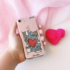 No nosso mundo imaginário todos os smartphones possuem coração! {case: amor inside} [NA COMPRA DE 2 GOCASES VOCÊ GANHA 50% OFF NA TERCEIRA] #gocasebr #intsagood #iphonecase #lifeonadraw #robo #heart #blcknov #gocaseblack #usogocase