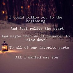 All I Wanted Was You- Paramore. Original edit!