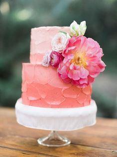 Tropical Wedding Cakes #weddingcakes
