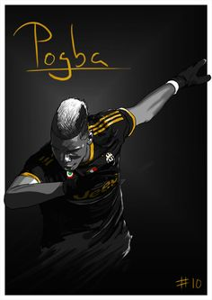 New Paul Pogba illustration!Spent some time trying to slightly tweak my style, I think this one works. : New Paul Pogba illustration!Spent some time trying to slightly tweak my style, I think this one works. Art Football, Soccer Art, Football Icon, Pogba Wallpapers, Le Dab, Paul Labile Pogba, Pogba Dab, Football Celebrations, Manchester United Wallpaper
