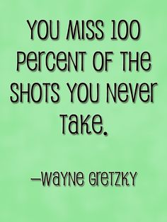 A Brilliant Quote from Ice Hockey Great, Wayne Gretzky
