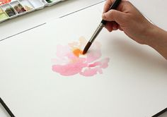 #Watercolor #tutorial #flower #howto #paint pt. 1: BASICS & SUPPLIES | The Alison Show