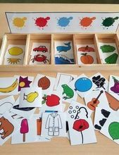montessori kleinkinder selbstgemacht - Welcome to our website, We hope you are satisfied with the content we offer. Preschool Learning Activities, Infant Activities, Educational Activities, Montessori Toddler, Montessori Color, Montessori Materials, Kids Education, Kids And Parenting, Art For Kids