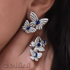 Look what morphed just in time for #MothersDay #ButterflyBling !   Visit Cellini Jewelers NYC to see the full collection