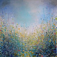 "Saatchi Online Artist Sandy Dooley; Painting, ""Blue"" #art"