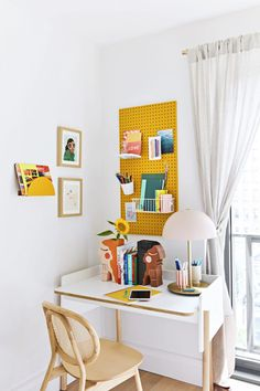 Real Simple Home Tween Room Design A Space, My Design, Design Ideas, Geometric Shelves, Entryway Bench Storage, Real Simple, Simple House, Home Organization, Organizing Tips
