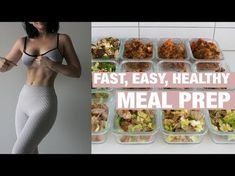 -SUPER- EASY MEAL PREP | Keto, Gluten Free, One-Pan Dishes - YouTube