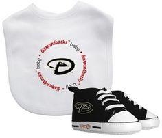 Baby Fanatic MLB Arizona Diamondbacks 2-Piece Gift Set