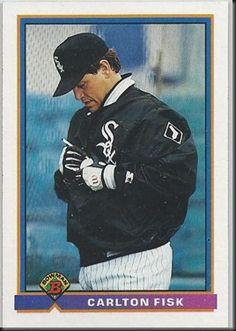 Carlton Fisk – 1991 Bowman #345