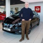 1st UK Customer Takes Delivery Of All-New Nissan LEAF