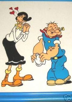 Learn a little more about #Popeye and the history of his #spinach eating habits here: http://popeye.org/popeye/history-of-popeye
