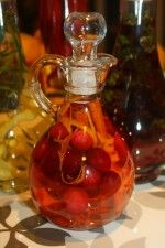 Cranberry Orange Infused Vinegar. Such an awesome vinaigrette for any salad that has fruit in it or needs a light refreshing vinegar.  Will definitely make this again. http://www.gettystewart.com/gifts-from-the-kitchen-infused-vinegar/