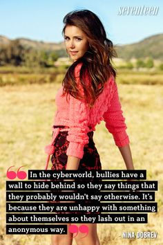 8 Most Inspiring Celeb Quotes About Bullying - STOPit has the solution to end cyberbullying! #STOPit #stopcyberbullying