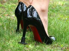 Heels Above: High Heel Protectors for Grass, Sand, and Mud (for myself and my bridal party during the ceremony).