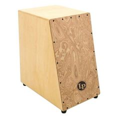 LP Angled Surface Cajon - Adding another dimension into the world of Cajon drumming. The LP Angled Cajon has an angled playing surface to better facilitate playing all of the various sounds. Guitar Stand, Cigar Box Guitar, Cajon Drum, Diy Drums, Drum Accessories, Wooden Projects, Musical Instruments, Musicals, Projects To Try