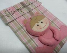 Capa Caderneta Vacinação Ursinho Bebê