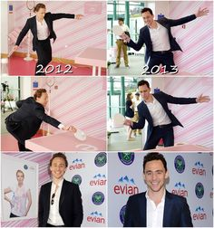 Wimbledon 2012 & 2013 Tom REALLY likes table tennis- Awww man I was gonna make one like that in the morn!