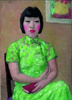 Pan Yuliang~ Self Portrait