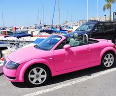 BARBIE CARRRR! yes :)