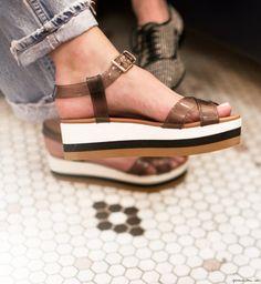 Fendi sandals / Garance Doré
