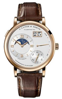 At the Salon International de la Haute Horlogerie – SIHH 2014 - A. Lange & Söhne will reveal its new Grand Lange 1 Moon Phase.
