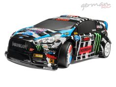 HPI Racing KEN BLOCK 2014 Ford Fiesta ST RX43 MICRO RS4 RTR