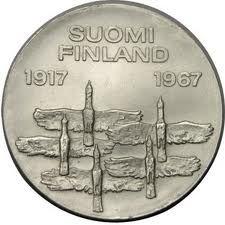 Finland 10 Markkaa 1967